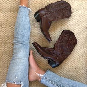 Women's Western Cowboy Boots Size 8 / Vintage
